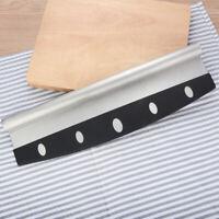 "14"" Pizza Cutter Sharp Rocker Blade Heavy Duty Stainless Steel Slicer US"