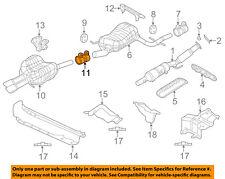 For 2009-2014 Volkswagen Jetta Exhaust Clamp Genuine 59973XT 2010 2011 2012 2013