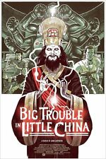 MONDO PRINT POSTER BIG TROUBLE IN LITTLE CHINA SOLD OUT IN HAND UK