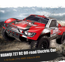 HUANQI 727 1:10Scale RC Car 27Hz 4CH 4WD 35km/h Off-road Electric Racing Toy RTR