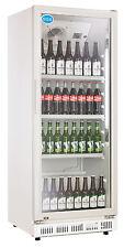AG Gastro Flaschenkühlschrank Glastür 310 Liter 620x635x1562mm weiß