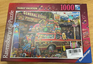 Ravensburger 1000 Piece Family Vacation Jigsaw Puzzle
