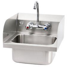 Beeketal Gastro Edelstahl Handwaschbecken Waschbecken Waschtisch Spülbecken