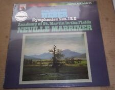 Marriner WEBER Symphonies No.1 & 2 - Vanguard VA 25018 SEALED