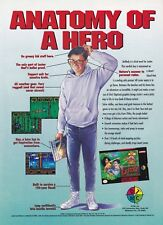 Vintage 1994 LESTER THE UNLIKELY Super Nintendo SNES video game print ad page