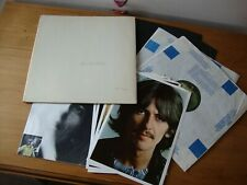 THE BEATLES WHITE ALBUM Numbered 342127 Complete Original 1968 UK MONO 1st Press