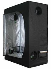 More details for new 120x60x150cm grow tent bud dark green room hydroponics box mylar silver