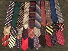 Lot of 30 Mostly Designer Names Mens Neckties Lot #3