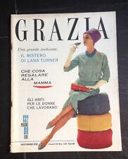 """""""Grazia"""" 26 aprile 1959 rivista di moda e attualità"""