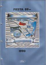 FORD FIESTA MK1 & MK2 incl XR2 1977-88 pannelli del corpo di fabbrica elenco delle parti pittoriche