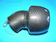 HIGH PERFORMANCE CARBON FIBER LOOK 45 DEGREE AIR FILTER 48mm SCOOTER MOTORCYCLE