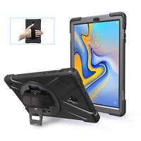 For Samsung Galaxy Tab A 10.5 SM-T595 Tablet Armor Rugged Cover Hard Box Case