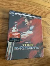 Thor ragnarok 4k + 2d + digital HD best buy steelbook sealed + in mint +free s&h