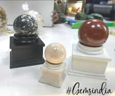 Polyresin Display Sphere stand : choice of size and color