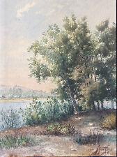 Aimé Peys aquarelle signée datée de 1900