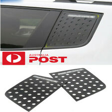 Car Rear Window Glass Triangle Plate DecorCover Trim for Jeep Renegade 2015-17