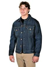 Levi's Men's Distressed Trucker Jacket, Large, USA Made 70589-0041