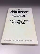 Mooney Encore M20K Pilot's Information  Manual