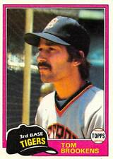 1981 Topps Baseball Cards Pick From List (Includes Rookies) 251-500