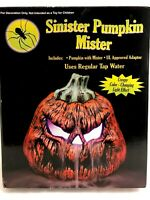 NEW Halloween PUMPKIN FOGGER PROP COLOR CHANGING HAUNTED HOUSE DECOR