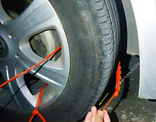 80 Simple Auto Emergency Anti-Skid Tire Chains for Car SUV Sedan Van Snow Winter