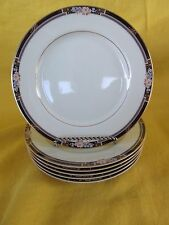 Mikasa Florisse Black SALAD PLATE(s) multiples, have more items to this set