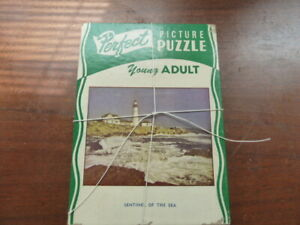 """Vintage """" Perfect"""" Picture Puzzle from 1950's"""