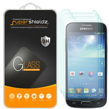 3X Supershieldz Tempered Glass Screen Protector Saver for Samsung Galaxy S4 Mini