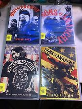 ~ SONS OF ANARCHY ~ DVD Sets - Seasons 1-4-New