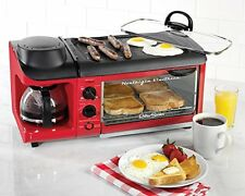 Breakfast Making Station Egg Fry Pan Griddle Toaster Oven Coffee Pot RV Camper