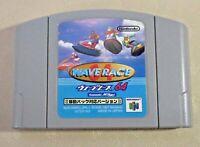 Wave Race Rumble pak ver. Nintendo 64 N64 tested authentic cartridge game Japan