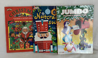 New Lot of 3 CHRISTMAS COLORING AND ACTIVITY BOOKS Kappa Benden Landolls
