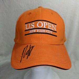 Andy Roddick Autographed / Signed Hat / Cap US Open New York Orange Wilson OSFA