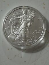2018 - American Silver Eagle (ASE) - 1 troy oz. - .999 - Uncirculated in Holder
