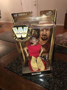 Terry Funk - WWE Legends Series 2 Mattel Wrestling Action Figure 2010