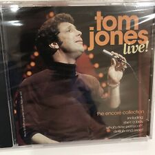 Live Tom Jones CD 1997 NEW Sealed Shes a Lady Whats New Pussycat Delilah More