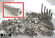 Stainless Allen Bolts (Socket Caps) M5 M6 M8 KAWASAKI ZX ZXR ZZR 600 400 RR
