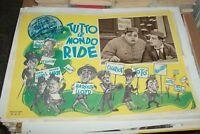 Tutto Il Mondo Ride Fotobusta Pequeña Originale. 1952