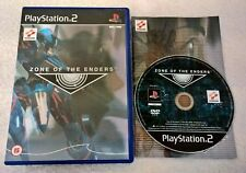 Zone of the Enders Ps2 Ottima 1a Edizione Uk Eng con manuale Gioco in Italiano