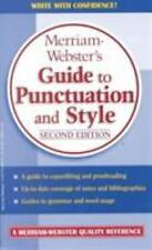 Merriam-Webster's Guide to Punctuation and Style by Merriam-Webster