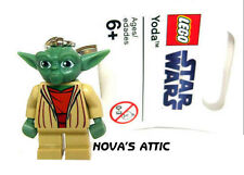 STAR WARS LEGO YODA KEYCHAIN KEYRING NEW