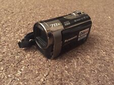 PANASONIC SDR-S70 COMPACT CAMCORDER SD CARD DIGITAL VIDEO CAMERA