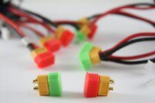 12 Stk. Lipo Schutzkappe für XT60 XT-60 / Lipo Deckel / XT60 Plug / Akku safe