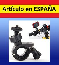 Soporte BICIcleta moto camara BICI GPS GoPro HERO 1 2 3 4 manillar barra fotos