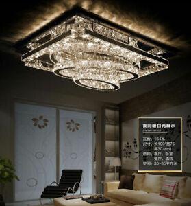 Luxury living room crystal ceiling lamp Remote dimming chandelier lighting#85059