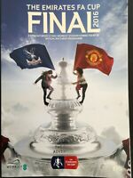 FA CUP FINAL 2016 CRYSTAL PALACE V MANCHESTER UNITED MINT
