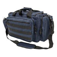NcStar Vism Tactical Competition Range Bag MOLLE Pistol Storage Blue CVCRB2950BL