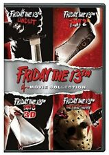 Friday The 13Th Deluxe Edition Four Pack [New DVD] Boxed Set, Deluxe Edition,