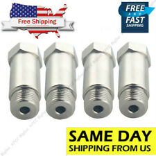 4PCS O2 Oxygen sensor extender adapter extension spacer HHO O2 Bung 55MM CEL FIX