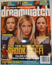 Dreamwatch Magazine Thunderbirds Sarah Michelle Gellar August 2004 033115R2